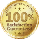 Cigars International 100% Satisfaction Guaranteed